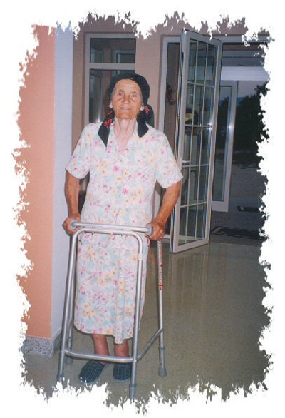 """""""You betcha!  Ruza is in!  No income, no one to go to, the perfect<br />candidate for St. Joseph Retirement Home.<br /> Welcome Ruza!<br /> (A few years later Ruza died but she died with dignity and with love.)"""